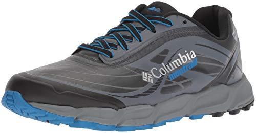 Columbia Caldorado III Outdry Extreme Trail Running Shoes 41 EU Black Blue Magic