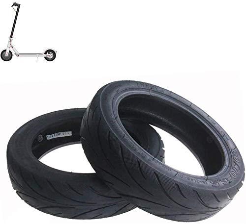 ZHAO Neumáticos de Scooter eléctricos, neumáticos de vacío a Prueba de explosiones 60/70-6.5, Antideslizante Espesado y Resistente al Desgaste, Adecuado para MAX Scooter, 2PCS