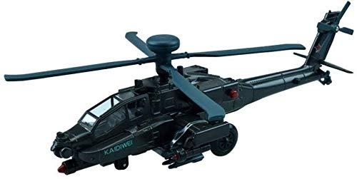 Autoks Modelo de helicóptero Juguete para niños Aleación