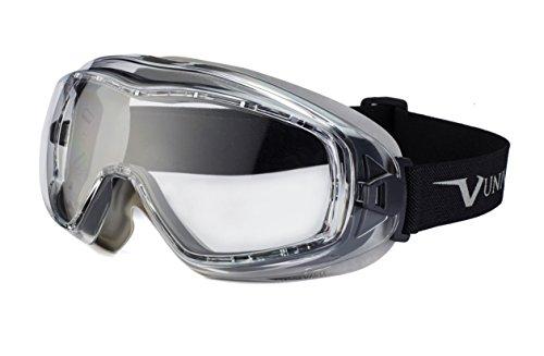 Univet 620U: Gafas con estilo de esquí, de seguridad con lente transparente