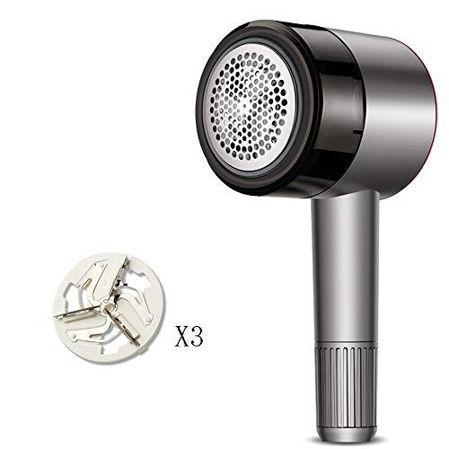 Xiao Huang Li, oplaadbaar, tegen pillen en stof shaver, 3 vellen roestvrij staal, Lint Shaver Defuzzer Pillen Fuzz Remover voor
