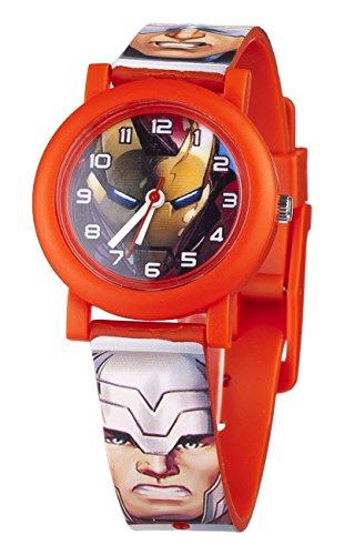 Marvel MAR70 Orologio da Bambino, Plastica, Multicolore