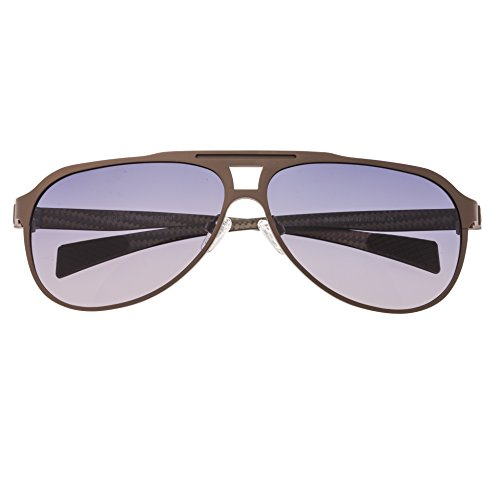 Breed Apollo Herren Sonnenbrille Titan Aviator Polarisiert BSG006, BSG006CP, BSG006CP