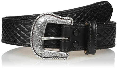 Nocona Boots Herren Huntsville Usa Black Belt Gürtel, schwarz, 36
