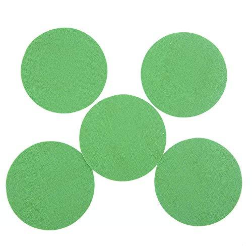 QND,Lija abrasivo,25 Piezas de Papel de Lija lijadora de Disco de 3 Pulgadas para Pulido en seco y húmedo Herramientas de Limpieza de Pulido 1000 2000 3000 4000 5000 Grano