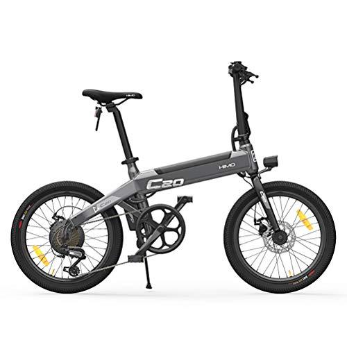 Bicicleta electrica, Bicicleta eléctrica plegable HIMO C20 para adultos Ebike 25 km...