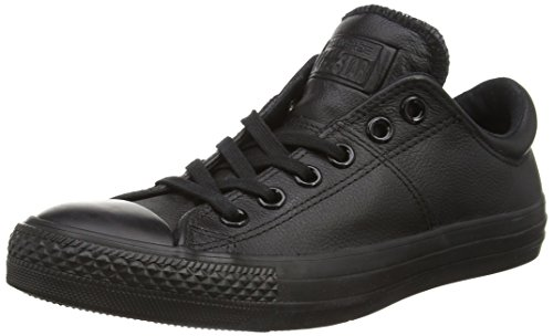 Converse Womens Chuck Taylor All Star Madison Oxford Fashion Sneaker Shoe, Black, 10