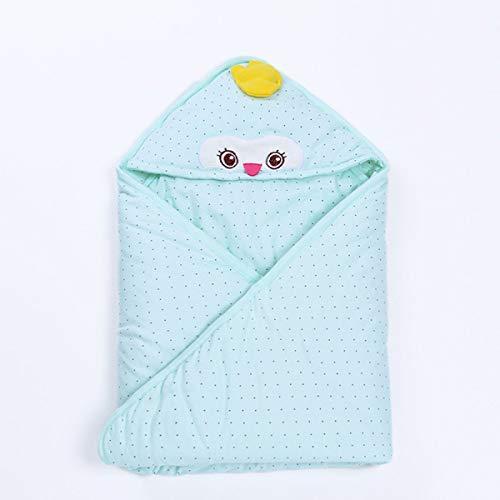Emmala baby dekt pasgeborenen babydeken keuken patroon cartoonbeeld katoen lente casual chic en herfst babyverpakking deken op,blauw
