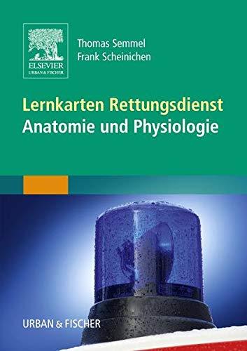 Lernkarten Rettungsdienst - Anatomie und Physiologie