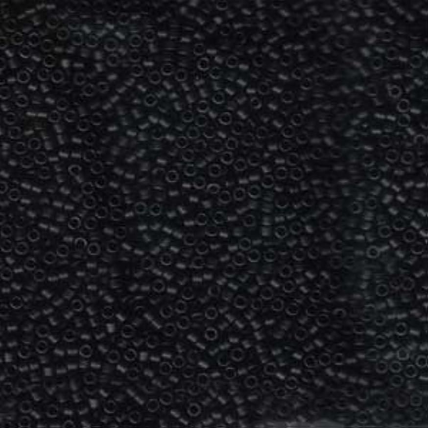 Miyuki Delica Seed Beads Mix 10/0 MATTE BLACK 7.2 Grams DBM0310