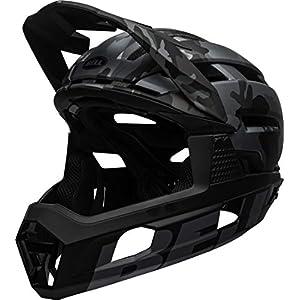 BELL Super Air R MIPS Adult Mountain Bike Helmet - Matte/Gloss Black Camo (2021), Medium (55-59 cm)