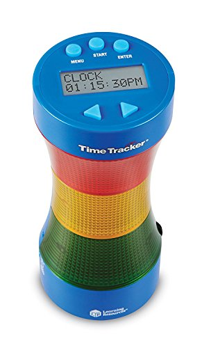 Learning Resources Time Tracker® Visual Timer & Uhr