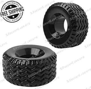 Black Thick Silicone Soft Tire Textured Heavy Stretcher Ring Enhancer Enlarger TF