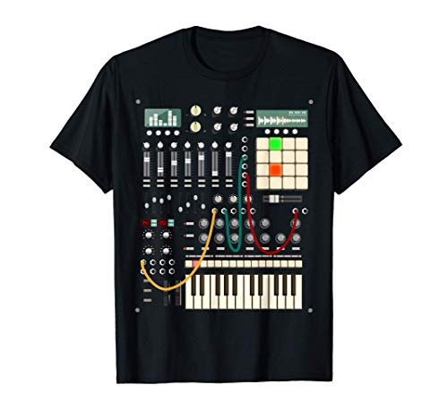 Sintetizzatore Modulare per Musicista Elettronico Maglietta