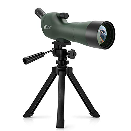 Emarth 20-60x60AE Waterproof Angled Spotting Scope...