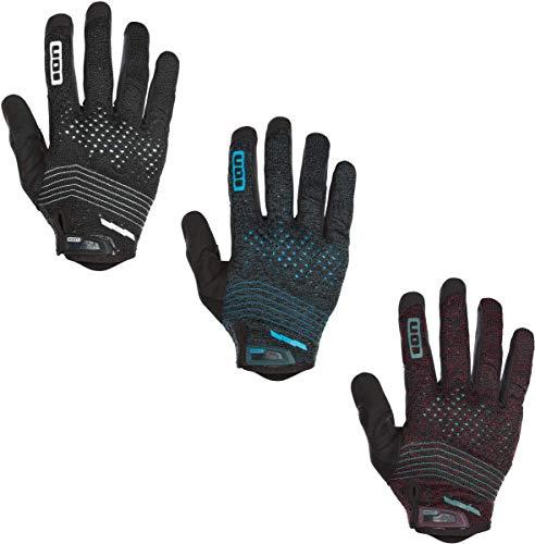 Ion Seek Amp MX DH FR Fahrrad Handschuhe lang schwarz 2019: Größe: L