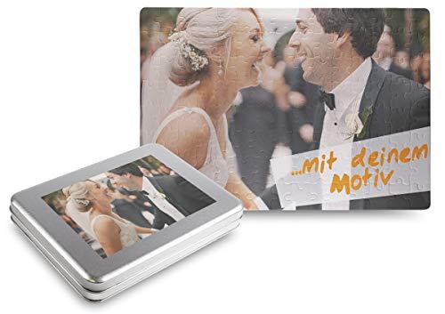 Kopieerladen puzzel met eigen foto, 300 delen (40x29 cm), incl. geschenkdoos - individueel fotogeschenk - fotopuzzel met eigen afbeeldingen en teksten