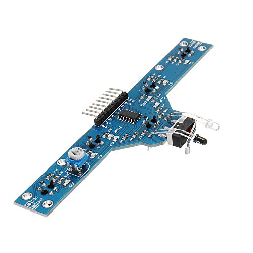 MING-MCZ Duradero Módulo del Sensor de localización de Cinco Camino de Búsquedas Módulo 5 Funciones Inteligentes 3pcs Junta de Control de Vehículo Fácil de Montar