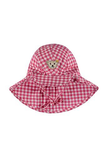 Steiff Baby-Mädchen Mütze, Mehrfarbig (Y/D Check|Multicolored 0002), 47