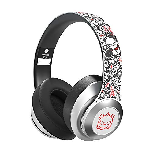 Angry Bear, Bluetooth 5.0 Over Ear Headphones, Wireless/Wired, ...