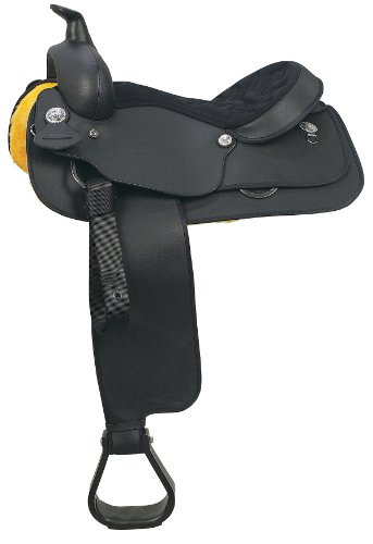 Wintec Full Quarter Western Saddle 17 Blk