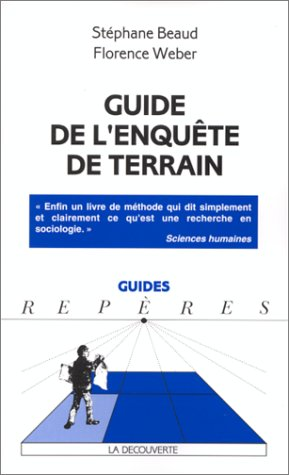 Guide de l'enquête de terrain