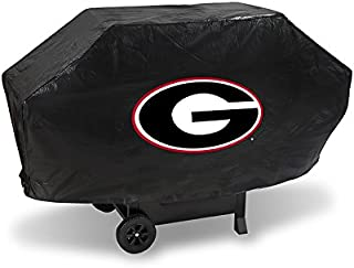 NCAA Georgia Bulldogs Vinyl Padded Deluxe Grill Cover