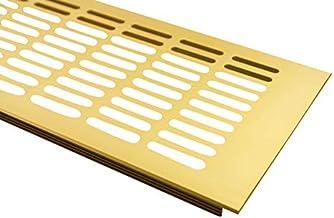 Aluminium lamellenplaat met een breedte van 130 mm ventilatierooster uit aluminium door middel van een luchtdeksel in vele...
