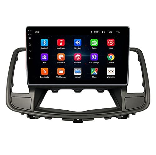 TIANDAO Android 10.0 Radio Satelital para Automóvil Reproductor Multimedia Autoradio 2.5D Navegador GPS para Nissan TEANA 2009-2012 Soporte WiFi Bluetooth/Control del Volante(Color:WiFi 1G+16G)