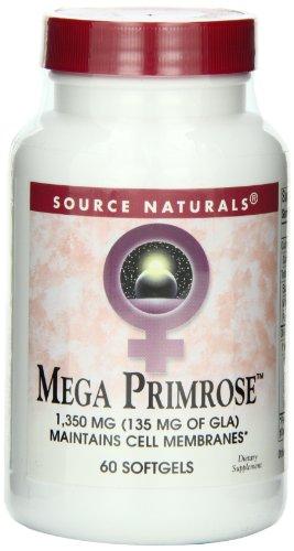 Mega Primrose 1300mg 60 Softgels