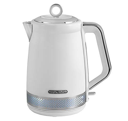 Morphy Richards 108021 Illumination Jug Kettle, 1,7 litre, blanc