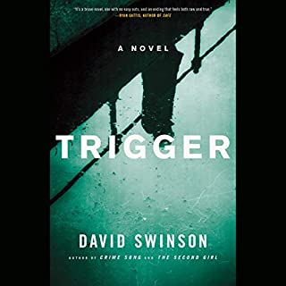 Trigger audiobook cover art