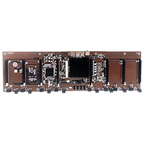 HM65 Inserción Directa Ocho Ranuras para Tarjetas BTC Condensador de Estado sólido B250 B85 Soporte para Placa Base de múltiples Tarjetas 1600 1333 1066 Placa Base de minería AMD gpu