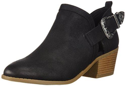 Fergalicious Women's Battle Ankle Boot, black, 9.5 M US