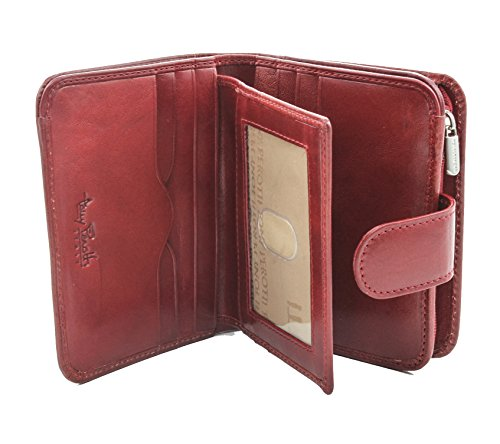 Tony Perotti Portefeuille unisexe pour adulte, Red), PI428804RD