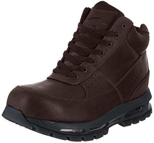 Nike Mens ACG Air Max Goadome Leather Boots Deep Burgundy/Black 865031-604 Size 9.5
