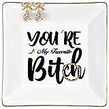 Kaidouma Gifts for Friends Women Ring Trinket...