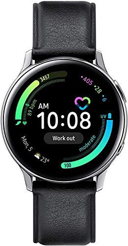 SAMSUNG SM-R830 Galaxy Watch Active2 Smartwatch Stainless Steel 40mm Cloud Silver EU