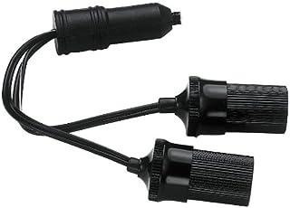 Custom Accessories 70051 12V Twin Plug-in Accessory Socket