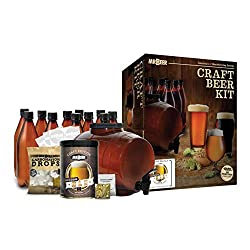 Mr. Beer Complete Beer Making Kit with Bottles Perfect for Beginners