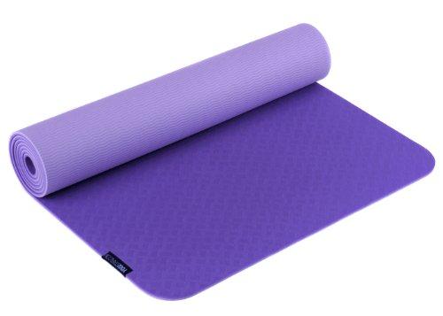 Yogistar Yogamatte Pro Esterilla de Yoga, Unisex, Morado (Violet), 183
