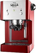 Gaggia RI8425/22 Gran Deluxe koffiemachine, 950 W, 15 bar, rood