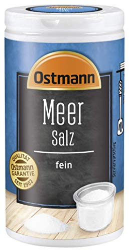 Ostmann Meersalz fein, 4er Pack (4 x 90 g) 804350