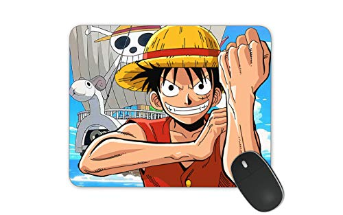 JNKPOAI One Piece Mouse Pad Customized Rubber Mouse Pad Gaming Mouse Mat (One Piece)