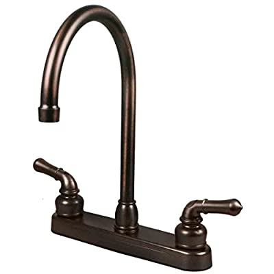 RV/Mobile Home Kitchen Sink Travel Motor Trailer Faucet, Oil Rubbed Bronze from WholesalePlumbing