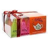 English Tea Shop - Teegeschenk mit Schleife 'Rooibos Tee Kollektion', BIO, 12 Pyramiden-Beutel...