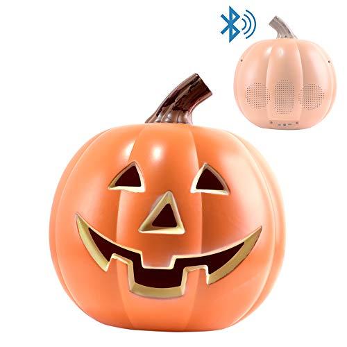 EpicXL PK100 Halloween Dancing Pumpkin - Bluetooth LED Lightup Speaker, Orange