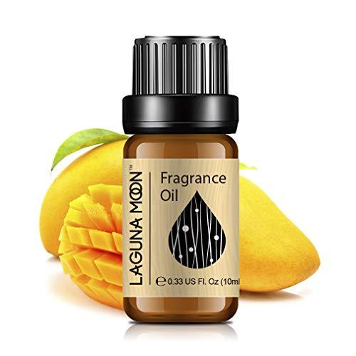 Lagunamoon Duftöle, Ätherische Öle für Luftbefeuchter, Aromatherapie Öl 10ml - Mango
