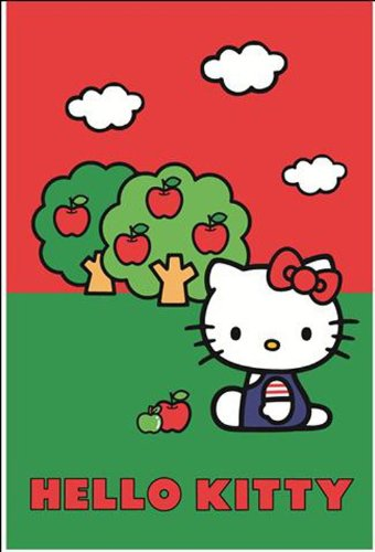 Digital Republic.Com 12730 - Alfombra, Color diseño de Hello Kitty