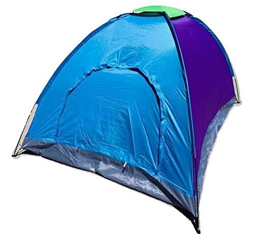 Orocolato Home Tenda Campeggio Impermeabile da 6 posti Stile Igloo Canadese con Borsa Porta Tenda - Zanzariera Integrata - Colori in Base a Disponibilità di Magazzino